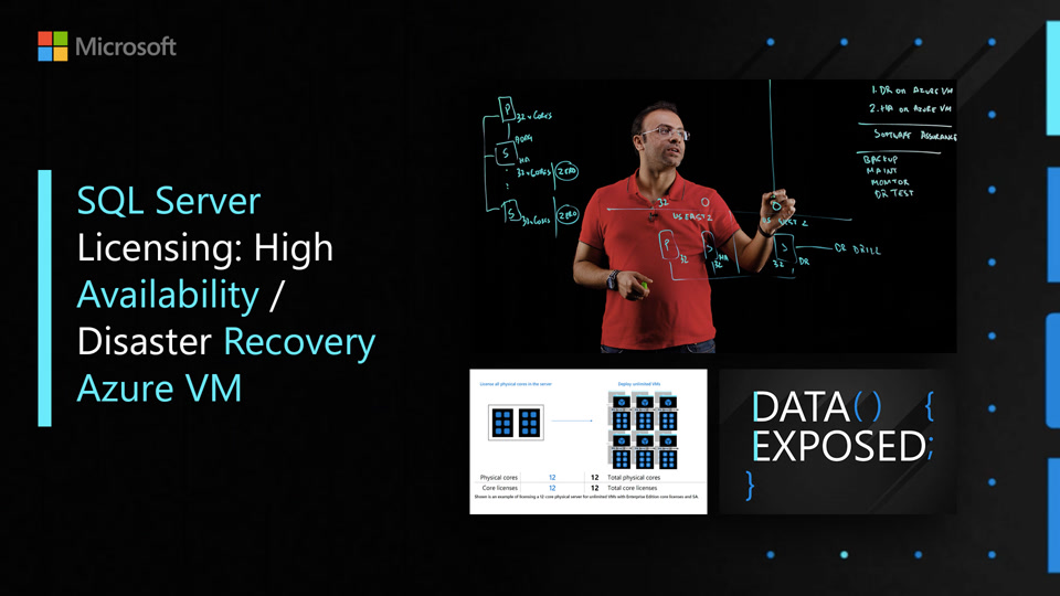 SQL Server Licensing: High Availability / Disaster Recovery Azure VM | Data Exposed