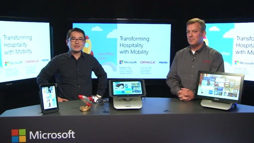 Transforming Hospitality with Windows Mobility - Oracle Micros