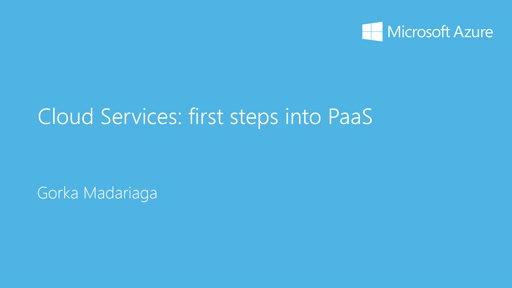 1- Basic: 05 - Cloud Services: primeros pasos en PaaS
