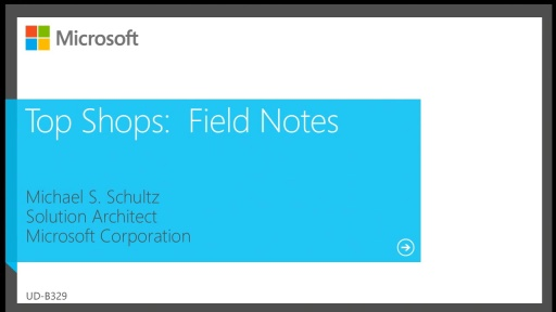 Top Shops: Field Notes from IT Departments That Rock