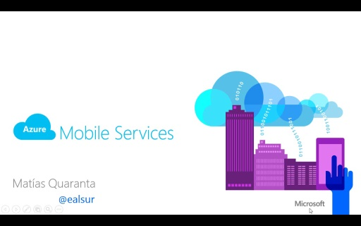 #100devdays Azure Mobile Services