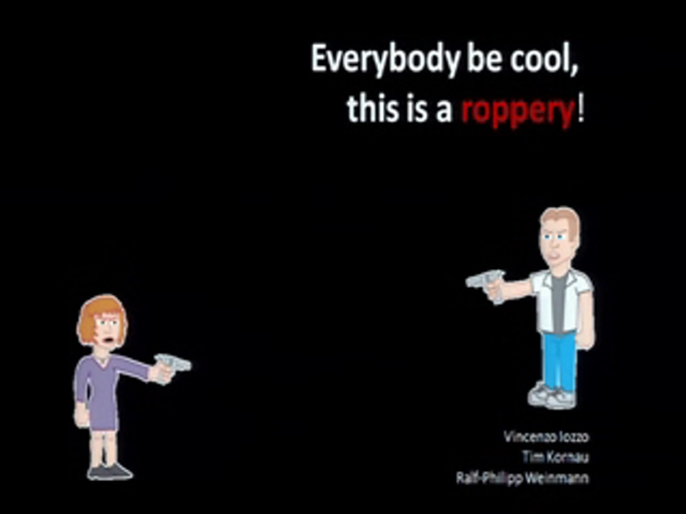 Everybody Be Cool This Is a ROPpery