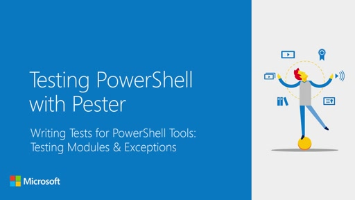 Writing Tests for Powershell Tools