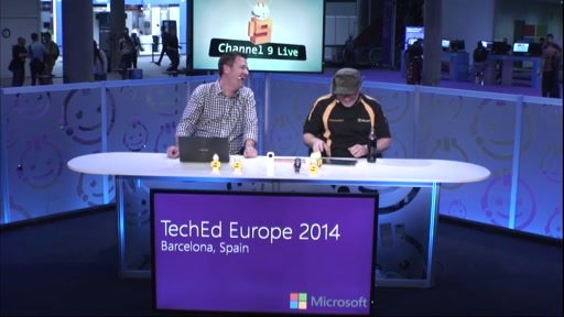 37 - Lobster Imagine Teeheeeee (Live from TechEd Europe)