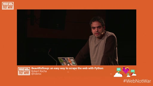BeautifulSoup: an easy way to scrape the web with Python