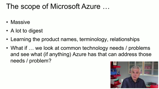 Microsoft Azure Fundamentals: (03) The Scope of Microsoft Azure Services