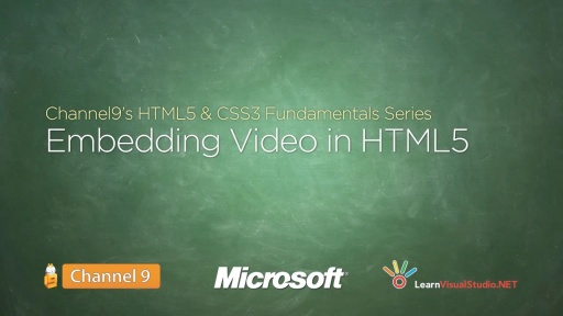 Embedding Video in HTML5 - 18