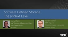 Software defined Storage, the vNext level