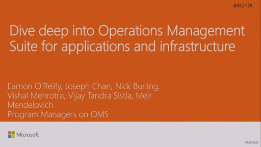 Dive deep into Operations Management Suite for applications and infrastructure