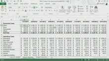 Organizing Data by Ordering and Grouping Cells Demo_excel