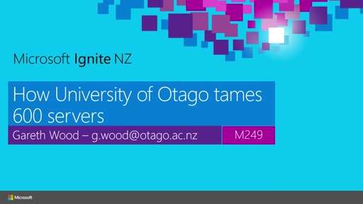 Server patching - How University of Otago tames 600 servers