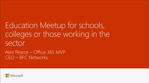 Meetup:  Education Meetup for schools, colleges or those working in the sector