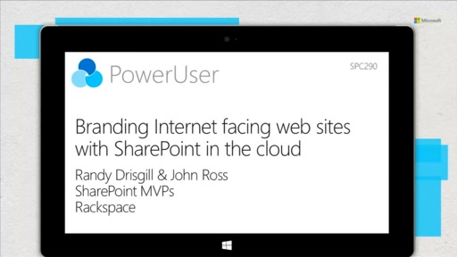 Branding Internet facing web sites with SharePoint in the cloud