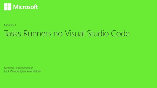 Tasks Runners no Visual Studio Code
