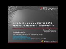 Introdução ao SQL Server 2012 AlwaysOn Readable Secondaries
