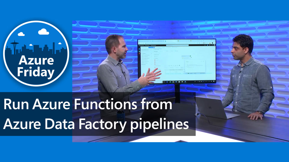 Run Azure Functions from Azure Data Factory pipelines
