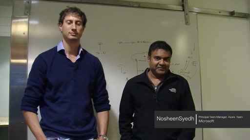 Azure IaaS Week Intro: Nosheen Syed AND Luis Vargas