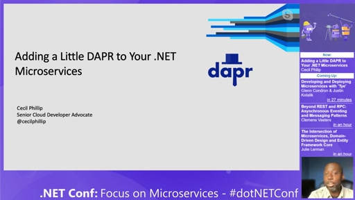 Adding a Little DAPR to Your .NET Microservices