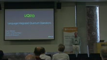 LIQUi|>: A Software Design Architecture and Domain-Specific Language for Quantum Computing