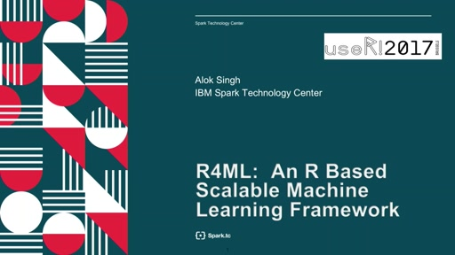 R4ML: A Scalable R for Machine Learning