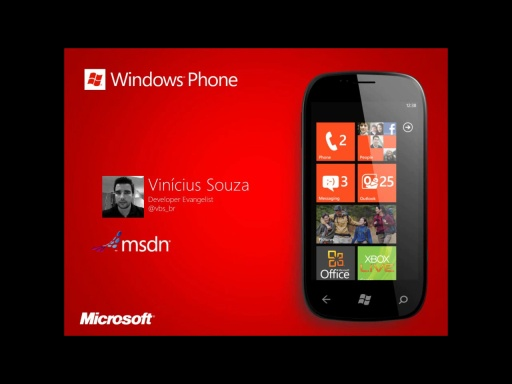 Windows Phone 7 - Modelo de Execução