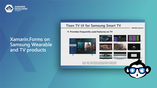 Xamarin.Forms on Samsung Wearable and TV products