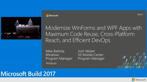 Modernize WinForms and WPF apps with maximum code reuse, cross-platform reach, and efficient DevOps