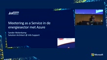 Metering as a Service in de energie sector met Azure