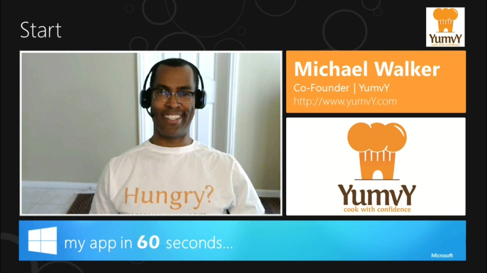 My App in 60 Seconds: YumvY
