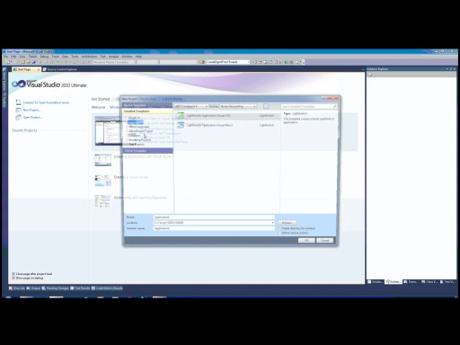 Toma de contacto con Visual Studio LightSwitch (1ª parte)