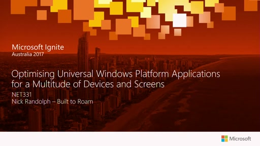 Optimising Universal Windows Platform Applications for a Multitude of Devices and Screens