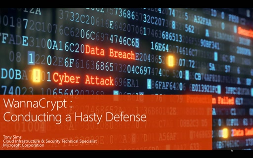 WannaCrypt:  Conducting a Hasty Defense