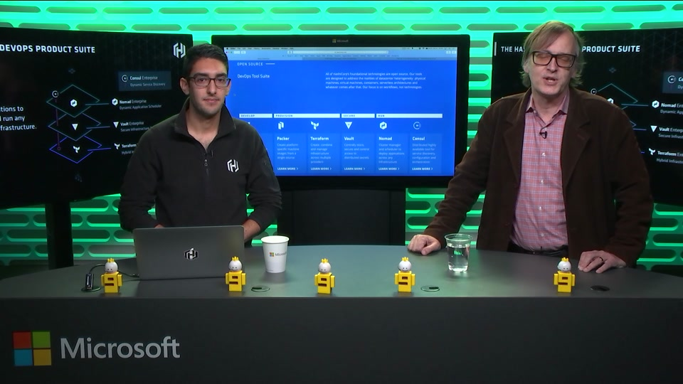 Hashicorp with azure microsoft open source channel 9 for Packer hashicorp