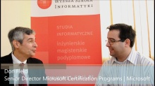 Microsoft Certification: Interview with Don Field (Senior Director Microsoft Learning)