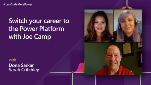 Switch your career to the Power Platform with Joe Camp