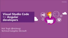Visual Studio Code for Angular developers