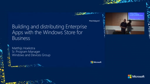 Building and distributing Enterprise Apps with the Windows Store for Business