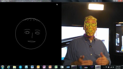 Kinect for Windows SDK 1 5 - Face Tracking, Seated Skeletal Tracking,  Kinect Studio, & More