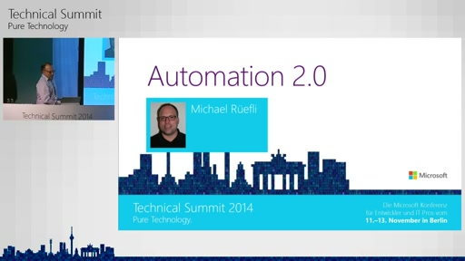 Automation 2.0 - Rechenzentrum-Automatisierung in der Public (Azure Automation) und Private Cloud (Service Management Automation)