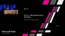ETL 2.0 - Data Engineering for developers