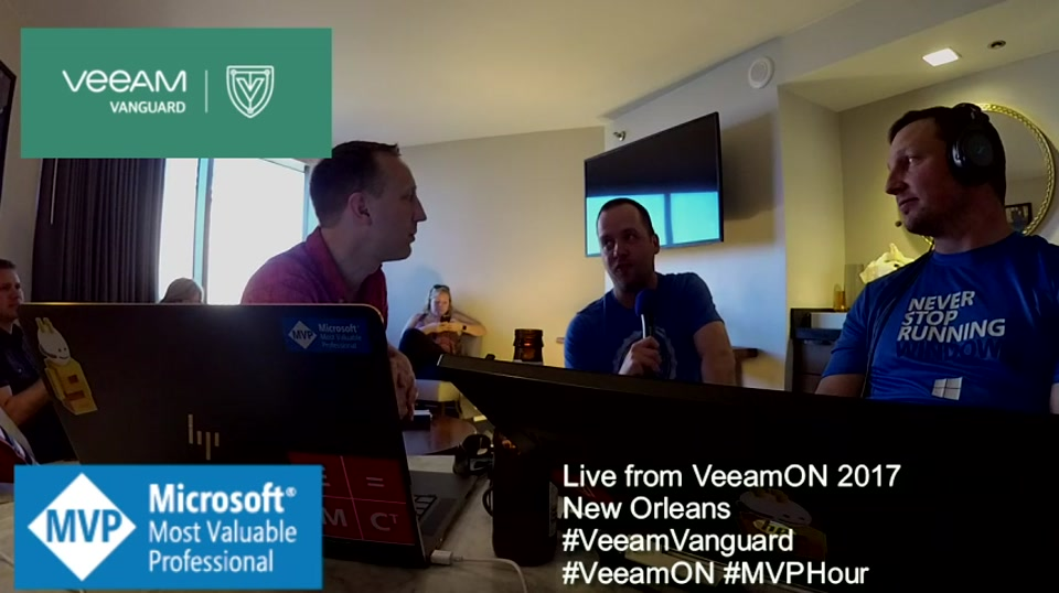 Episode 69 - Interview with Matt Crape at VeeamON 2017