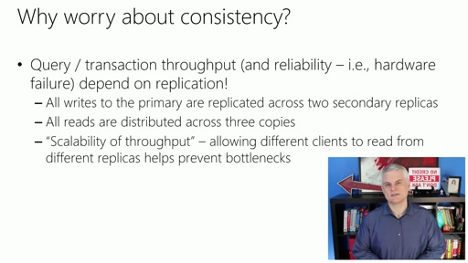 Microsoft Azure Fundamentals: Storage and Data: (25) Understanding DocumentDB Consistency