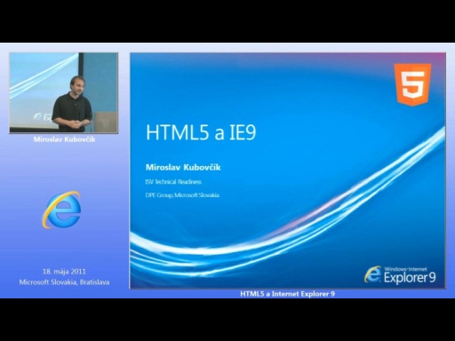 IE9 a HTML5 (SK)