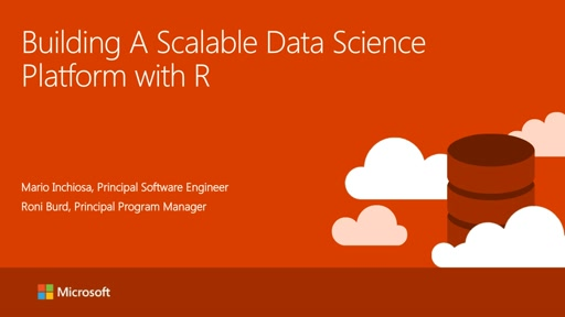 Building A Scalable Data Science Platform with R and Hadoop