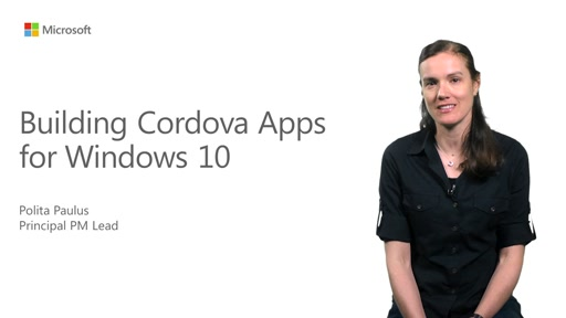 Apache Cordova – Build apps for Windows 10