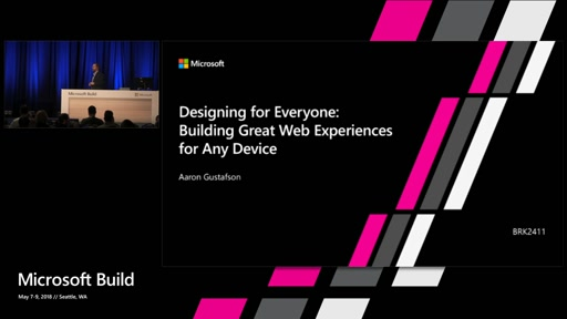 Designing for Everyone: Building great web experiences for any device