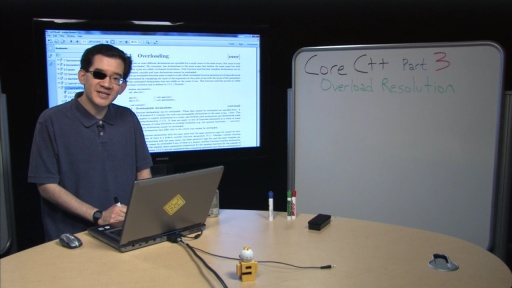 Stephan T. Lavavej: Core C++, 3 of n