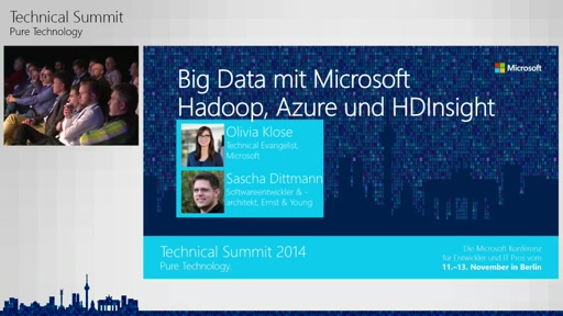 Big Data mit Microsoft - Hadoop, Azure und HDInsight