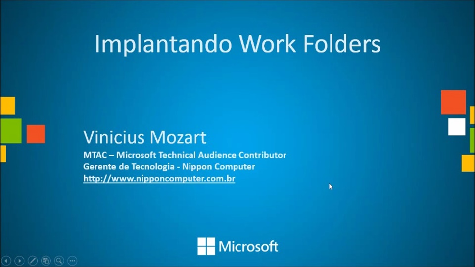 Work Folders no Windows 8.1