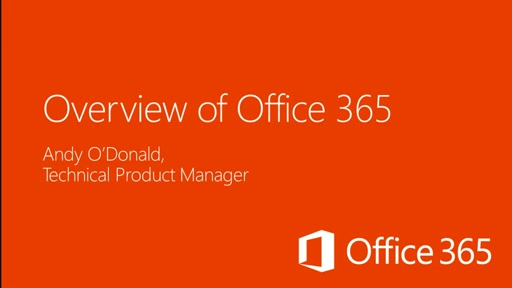 Overview of Office 365